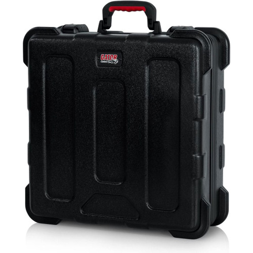 "Gator cases GTSA-MIX181806 TSA Series ATA Molded Polyethylene Mixer or Equipment Case; 18""x18""x6"", right"