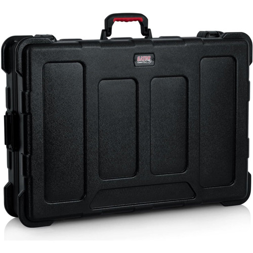 "Gator cases GTSA-MIX203006 TSA Series ATA Molded Polyethylene Mixer or Equipment Case; 20""x30""x6"", left"