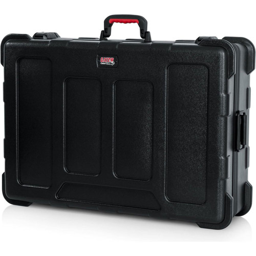 "Gator cases GTSA-MIX203008 TSA Series ATA Molded Polyethylene Mixer or Equipment Case; 20""x30""x8"", left"