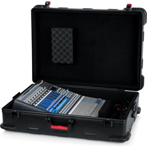 "Gator Cases GTSA-MIX203008 TSA Series ATA Molded Polyethylene Mixer or Equipment Case; 20""x30""x8"""