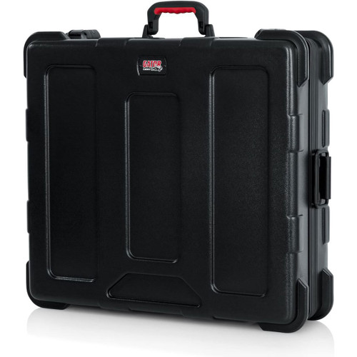 "Gator cases GTSA-MIX222506 TSA Series ATA Molded Polyethylene Mixer or Equipment Case; 22""x25""x6"", left"