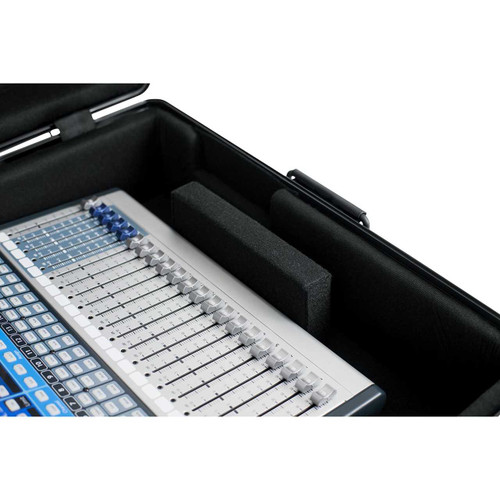 "Gator Cases GTSA-MIX222508 TSA Series ATA Molded Polyethylene Mixer or Equipment Case; 22""x25""x8"""