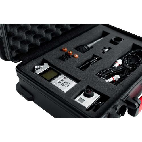 "Gator Cases GTSA-UTLDF111605 TSA Series ATA Molded Polyethylene Utility Case, 11""x16""x5"""