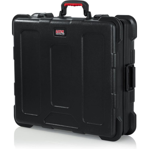 "Gator cases GTSA-UTLPLT1813 TSA Series ATA Molded Polyethylene Utility Case with (2) Tool Pallet Trays; 18""x13""x7"", left"