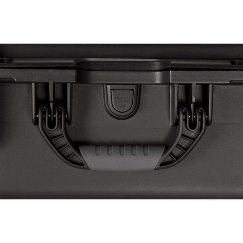 Gator Cases GU-0705-03-WPDF Black Waterproof Injection molded case, 7.4 x 4.9 x 3.1