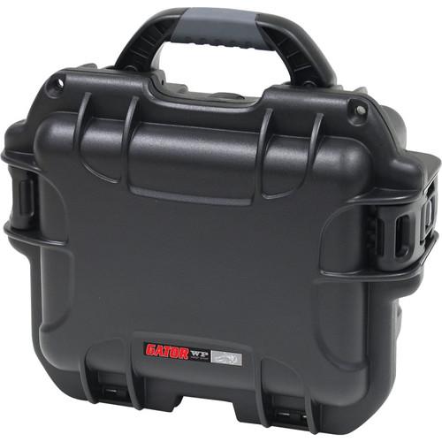 Gator Cases GU-0705-03-WPDF Black Waterproof Injection molded case, 7.4 x 4.9 x 3.1