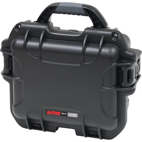 """Gator Cases GU-0907-05-WPNF Black waterproof injection molded case 9.4"""" x 7.4"""" x 5.5"""""""