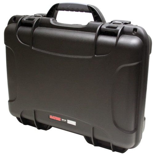 Gator Cases GU-1309-03-WPDF Black Waterproof Injection molded case, 13.2 x 9.2 x 3.8