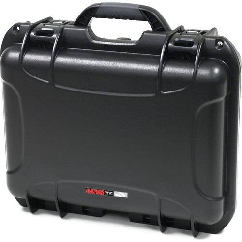 "Gator Cases GU-1510-06-WPDV Black waterproof injection molded case 15"" x 10.5"" x 6.2"""