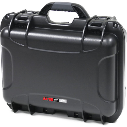 "Gator Cases GU-1510-06-WPNF Black waterproof injection molded case 15"" x 10.5"" x 6.2"""