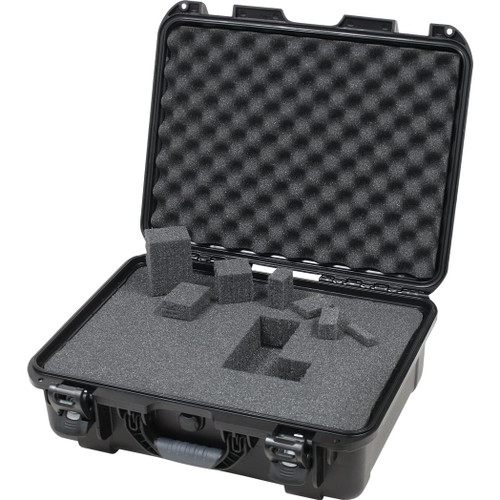 "Gator cases GU-1813-06-WPDF Black waterproof injection molded case with interior dimensions of 18"" x 13"" x 6.9"". DICED FOAM, main"