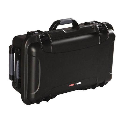 "Gator Cases GU-2011-07-WPDV Black waterproof injection molded case 20.5"" x 11.3"" x 7.5"""