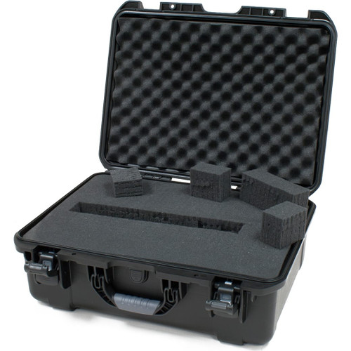 "Gator cases GU-2014-08-WPDF Black waterproof injection molded case with interior dimensions of 20"" x 14"" x 8"". DICED FOAM, main"