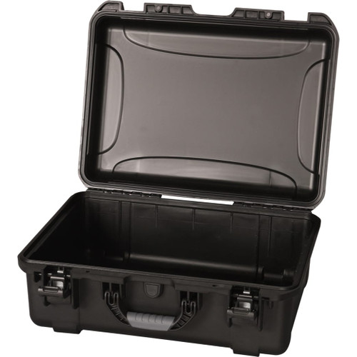 "Gator cases GU-2014-08-WPNF Black waterproof injection molded case with interior dimensions of 20"" x 14"" x 8"". NO FOAM, main"