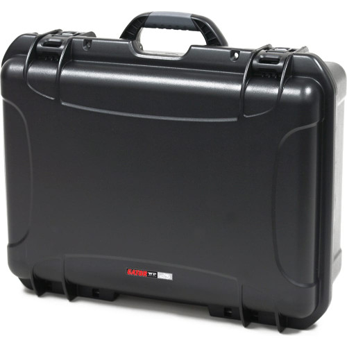 """Gator Cases GU-2014-08-WPNF Black waterproof injection molded case 20"""" x 14"""" x 8"""""""