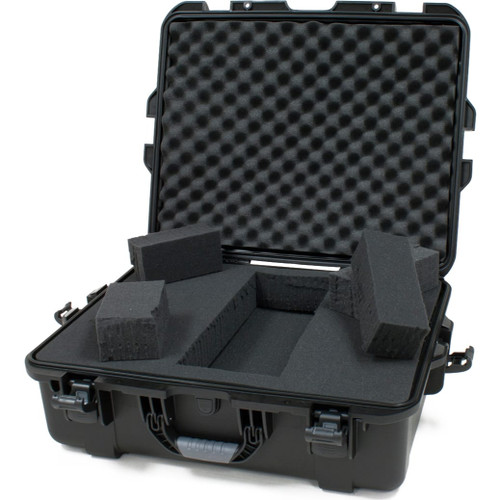 "Gator cases GU-2217-08-WPDF Black waterproof injection molded case with interior dimensions of 22"" x 17"" x 8.2"". DICED FOAM, main"