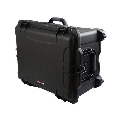 "Gator cases GU-2217-13-WPNF Black injection molded case with pullout handle and inline wheels. Interior dims 22"" x 17"" x 12.9"". NO FOAM, main"