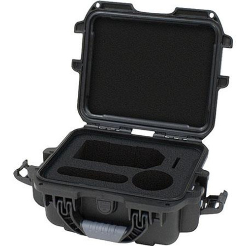 Gator Cases GU-ZOOMH4N-WP Black waterproof injection molded case with foam insert for Zoom H4N