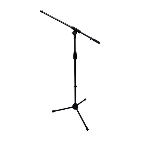Gator cases RI-MICTP-FBM Rok-It tubular microphone stand with fixed boom included. Tripod design for compact storage and easy twist height adjustment, main