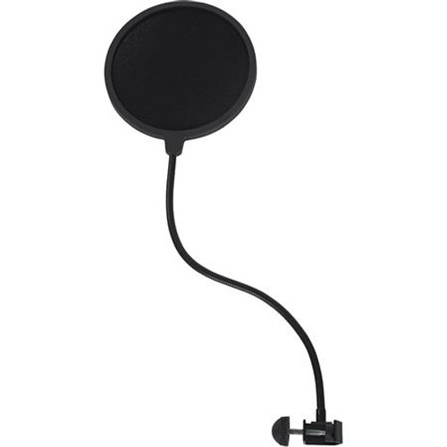 Gator cases RI-POPFILTER Rok-It Single Layer Microphone Pop Filter with Clamp Mount, main