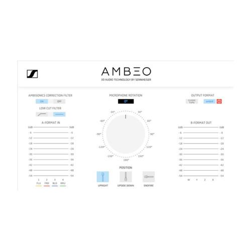 Sennheiser AMBEO VR Mic 3D Virtual Reality Microphone