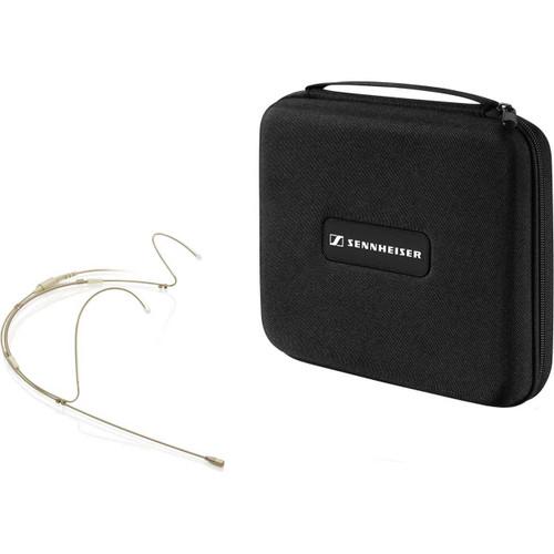 Sennheiser SL HEADMIC 1-4 BE Headset microphone, incl. LEMO cable, beige