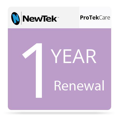 NewTek FG-000991-R001 1 Year Renewal ProTek Care for TriCaster 460