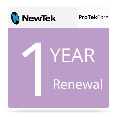 NewTek FG-000992-R001 1 Year Renewal ProTek Care for TriCaster 410