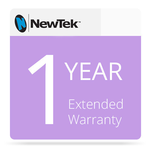 NewTek FG-000959-R001 1 Year Renewal Extended Hardware Warranty for TriCaster 410