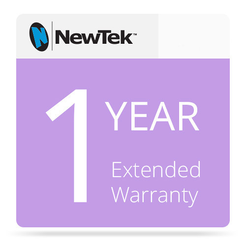 NewTek FG-000962-R001 1 Year Renewal Extended Hardware Warranty for 3Play 425