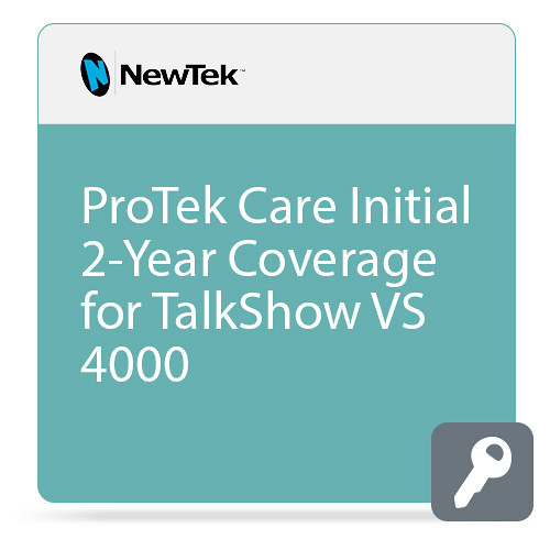 NewTek FG-001396-R001 2 Year ProTek Care for TalkShow VS 4000