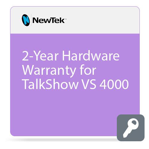 NewTek FG-001398-R001 2-Year Hardware Warranty for TalkShow VS 4000