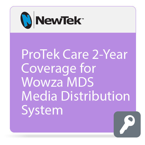 NewTek FG-001520-R001 2 Year ProTek Care for MediaDS Media Distribution System