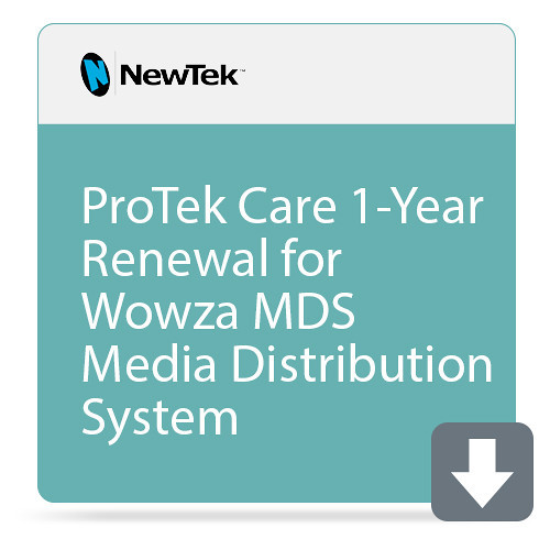 NewTek FG-001521-R001 1 Year Renewal ProTek Care for MediaDS Media Distribution System