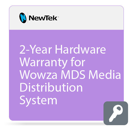 NewTek FG-001522-R001 2-Year Hardware Warranty for MediaDS
