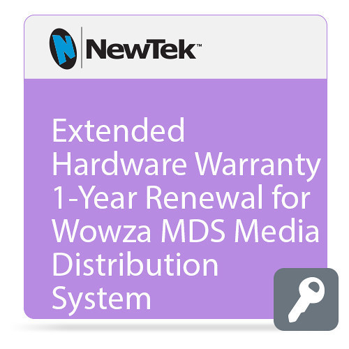 NewTek FG-001523-R001 Renewal Extended Hardware Warranty for MediaDS