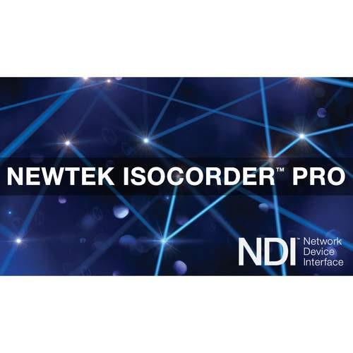NewTek FG-001529-R001 NewTek IsoCorder™ Pro (Download)