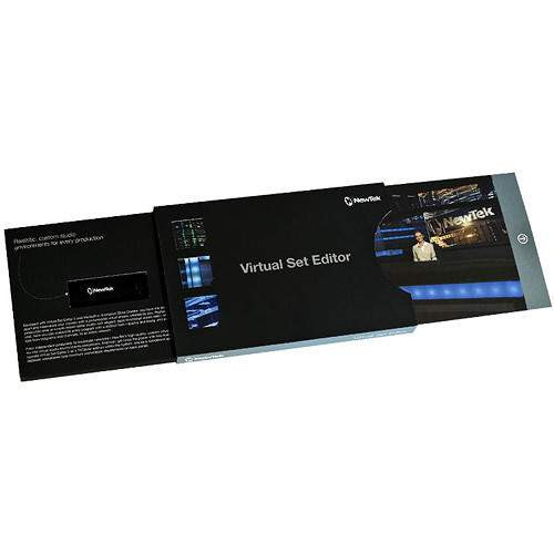 NewTek FG-001534-R001 TriCaster Virtual Set Editor 2.5 Upgrade (Download)