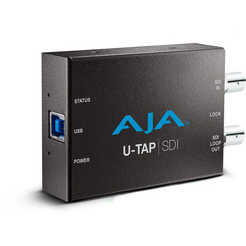 The U-TAP USB 3.0 Powered SDI Capture Device from AJA