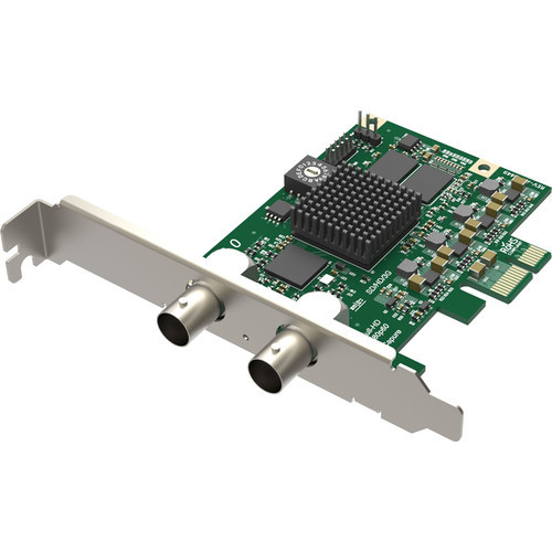 Magewell 11050 Pro Capture SDI; LP PCIe x1, 1-channel HD/3GSDI. Single channel bypass loop. W/L/M.