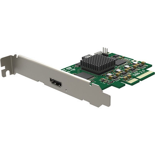 Magewell 11120 Pro Capture HDMI 4K, LP PCIe x4, 1-channel HDMI, Ultra HD 4Kp30. W/L/M.