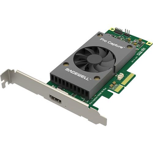 Magewell 11150 Pro Capture HDMI 4K, LP PCIe x4, 1-channel HDMI, Ultra HD 4Kp60. W/L/M.