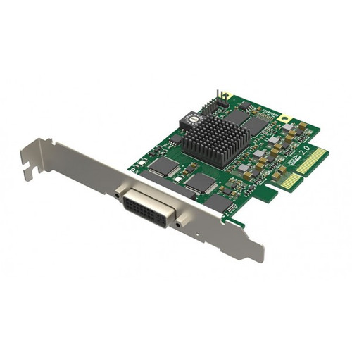 Magewell 11160 Pro Capture 4K DVI,LP PCIe x4, 1-channel DVI/HDMI, Ultra HD 4Kp30 HDMI, 4Kp30 DVI. W/L/M.