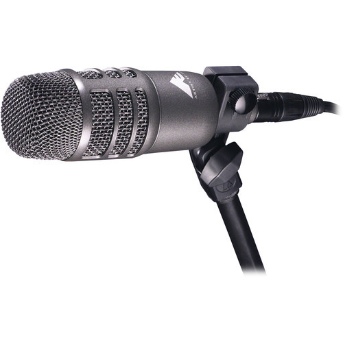Audio-Technica Cardioid condenser and dynamic dual-element instrument microphone