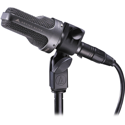 Audio-Technica Large-diaphragm side-address cardioid condenser instrument microphone