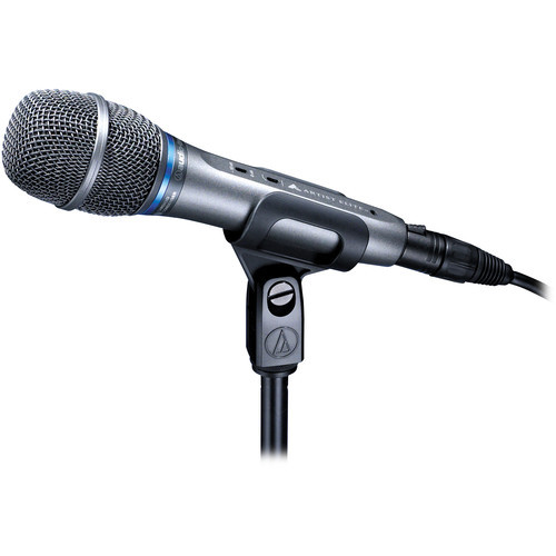 Audio-Technica Large-diaphragm cardioid true condenser handheld microphone