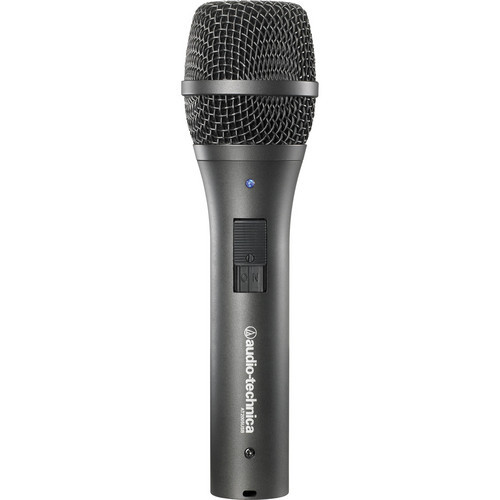 Audio-Technica Dynamic handheld microphone with digital(USB) and analog (XLR) outputs. Windows and Mac compatible.
