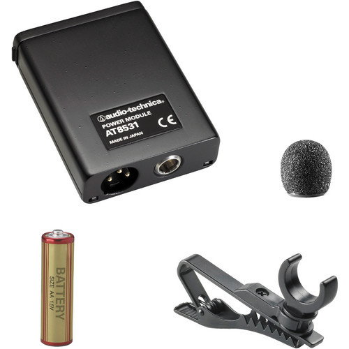 Audio-Technica AT803 Omnidirectional condenser lavalier microphone