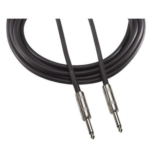 "Audio-Technica AT690-10 Speaker cable, 14-ga., 1/4"" - 1/4"" phone plug, 10'"