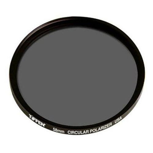 Tiffen 58mm Circular Polarizer Filter by Tiffen